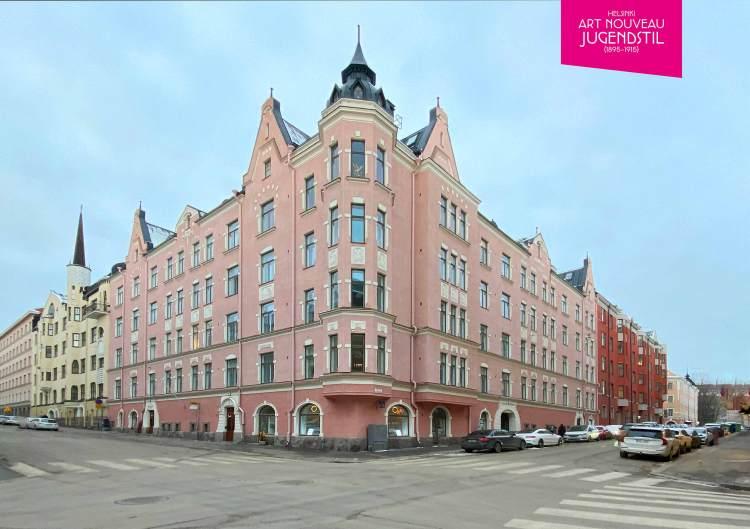 1905 'Rauhalinna' Pietarinkatu 7 - Neitsytpolku 8