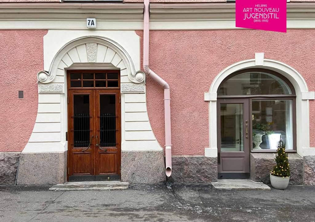 1905 'Rauhalinna' Pietarinkatu 7 & Neitsytpolku 8